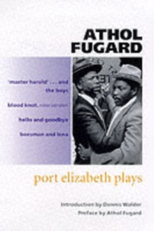 Port Elizabeth Plays, Paperback Book