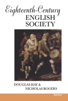 Eighteenth-Century English Society : Shuttles and Swords, Paperback Book