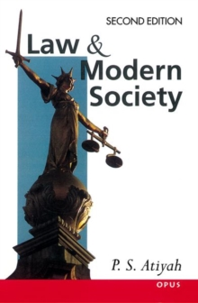 Law and Modern Society, Paperback Book