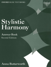 Stylistic Harmony Answer Book, Sheet music Book