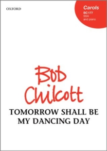Tomorrow shall be my dancing day, Sheet music Book