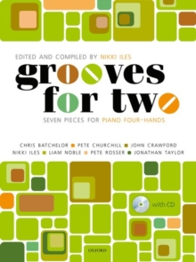 Grooves for Two + CD : Seven pieces for piano four-hands, Sheet music Book