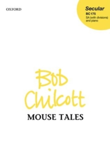 Mouse Tales, Sheet music Book