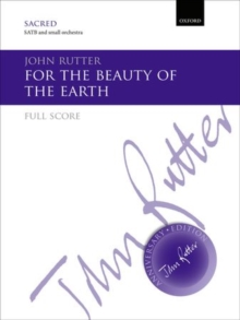 For the beauty of the earth, Sheet music Book