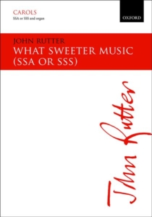 What sweeter music, Sheet music Book