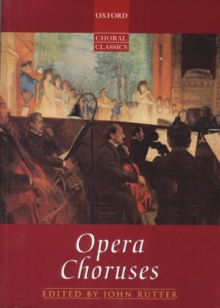 Opera Choruses : Vocal score on sale, Sheet music Book