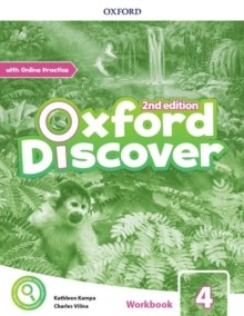 Oxford Discover: Level 4: Workbook with Online Practice, Paperback / softback Book