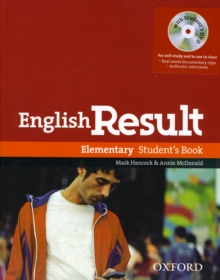 English Result: Elementary: Student's Book with DVD Pack : General English four-skills course for adults, Mixed media product Book