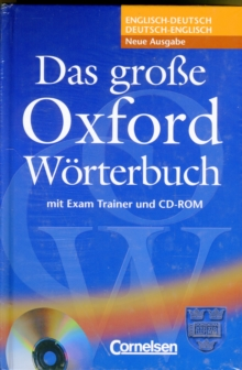 Das Grosse Oxford Worterbuch Book, CD & Trainer Pack, Mixed media product Book