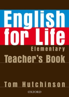 English for Life: Elementary: Teacher's Book Pack : General English Four-skills Course for Adults, Mixed media product Book