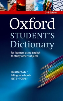 Oxford Student's Dictionary Paperback, Paperback Book