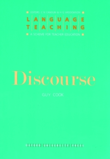 Discourse, Paperback / softback Book