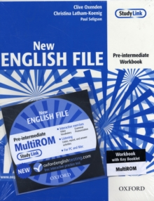 New English File: Pre-Intermediate: Workbook with Key and Multirom Pack : Six-Level General English Course for Adults, Mixed media product Book