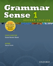 Grammar Sense: 1: Student Book with Online Practice Access Code Card, Paperback / softback Book