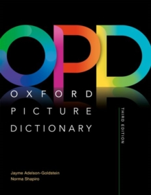 Oxford Picture Dictionary: Monolingual (American English) Dictionary : Picture the journey to success, Paperback Book