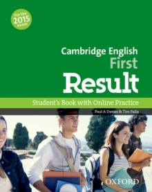 Cambridge English: First Result: Student's Book and Online Practice Pack, Mixed media product Book