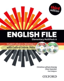 English File third edition: Elementary: MultiPACK A with Oxford Online Skills : The best way to get your students talking, Mixed media product Book