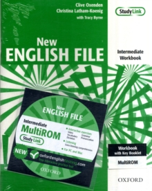 New English File: Intermediate: Workbook with key and MultiROM Pack : Six-level general English course for adults, Mixed media product Book