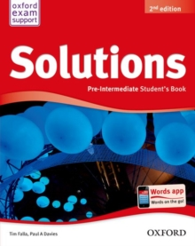 Solutions: Pre-Intermediate: Student's Book, Paperback Book