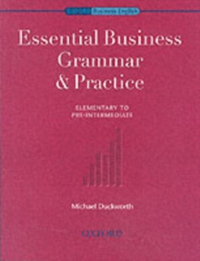 Essential Business Grammar & Practice, Paperback Book