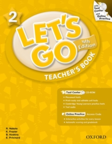 Let's Go: 2: Teacher's Book With Test Center Pack, Mixed media product Book