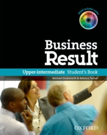 Business Result: Upper-Intermediate: Student's Book with DVD-ROM and Online Workbook Pack, Mixed media product Book
