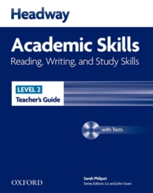 Headway Academic Skills: 2: Reading, Writing, and Study Skills Teacher's Guide with Tests CD-ROM, Mixed media product Book