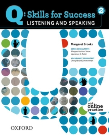 Q Skills for Success: Listening and Speaking 2: Student Book with Online Practice, Mixed media product Book