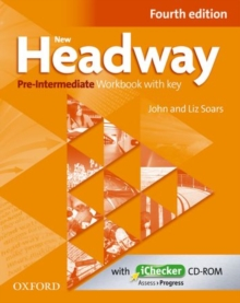 New Headway: Pre-Intermediate A2 - B1: Workbook + iChecker with Key : The world's most trusted English course, Mixed media product Book