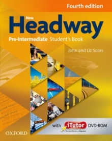 New Headway: Pre-Intermediate A2 - B1: Student's Book and iTutor Pack : The world's most trusted English course, Mixed media product Book