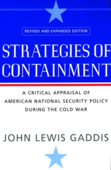 Strategies of Containment, Paperback / softback Book