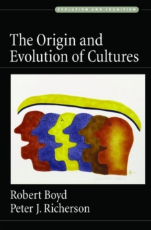 The Origin and Evolution of Cultures, Paperback / softback Book