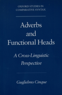 Adverbs and Functional Heads : A Cross-Linguistic Perspective, PDF eBook