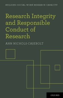 Research Integrity and Responsible Conduct of Research, Paperback / softback Book