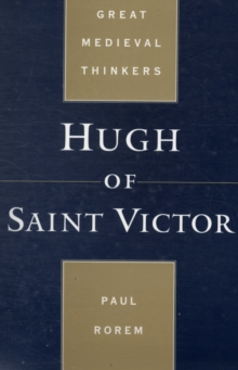 Hugh of Saint Victor, Paperback / softback Book