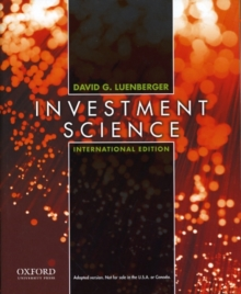Investment Science : International Edition, Paperback Book
