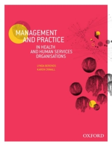 Management and Practice in Health and Human Service Organisations, Paperback / softback Book