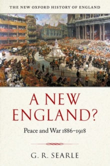 A New England? : Peace and War 1886-1918, Hardback Book