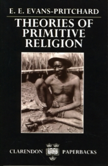 Theories of Primitive Religion, Paperback / softback Book
