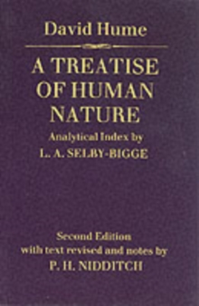 Treatise of Human Nature, Paperback Book