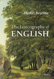 The Lexicography of English, Hardback Book
