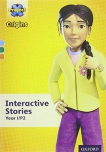 Project X Origins: Light Blue-Orange Book Bands, Oxford Levels 4-6: Interactive Stories CD-ROM Year 1/P2 Unlimited User, CD-ROM Book