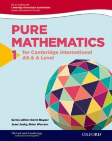 Oxford Pure Mathematics 1 for Cambridge International AS & A Level, Paperback Book