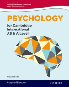 Psychology for Cambridge International AS and A Level : For the 9698 syllabus, Mixed media product Book