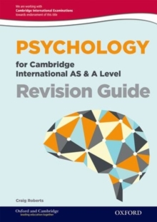 Psychology for Cambridge International AS & A Level Revision Guide, Paperback / softback Book