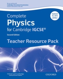 Complete Physics for Cambridge IGCSE  (R) Teacher Resource Pack, Mixed media product Book