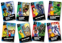 Project X Alien Adventures: Dark Blue Book Band, Oxford Levels 15-16: Dark Blue Book Band, Mixed Pack of 8, Multiple copy pack Book