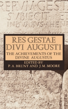 Res Gestae Divi Augusti : The Achievements of the Divine Augustus, Paperback Book