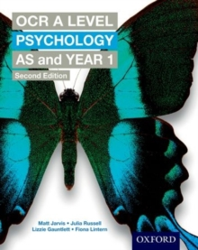OCR A Level Psychology AS and Year 1, Paperback Book