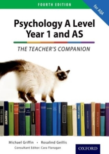 The Complete Companions: Year 1 and AS Teacher's Companion for AQA Psychology, Paperback Book